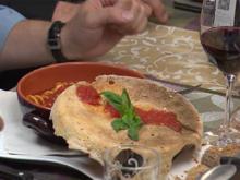 Fussillone-Sugo-Fusion mit Tintenfisch und Pizzadeckel - Rezept - Bild Nr. 8571