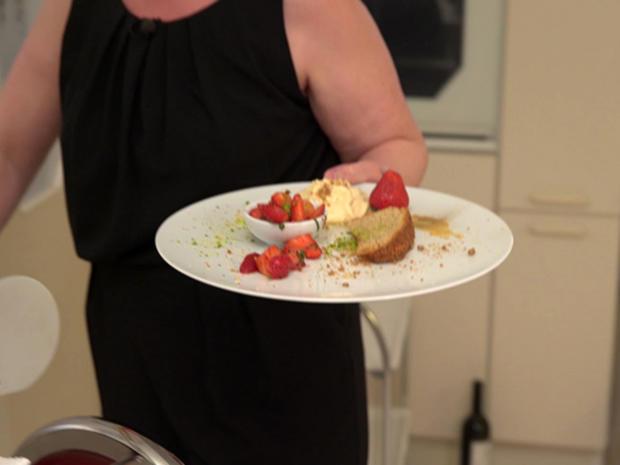 Drei Köstlichkeiten von der Farina Bona mit pikantem Erdbeerragout - Rezept - Bild Nr. 8571