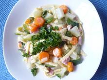 Gemüse-Nudel-Pfanne - Rezept - Bild Nr. 8571