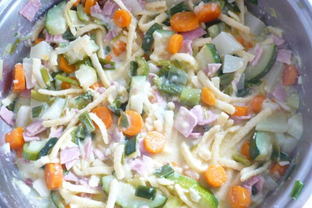 Gemüse-Nudel-Pfanne - Rezept - Bild Nr. 8572