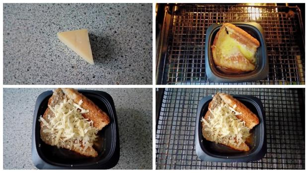 Einfache Zwiebelsuppe aus der Mikrowelle - Rezept - Bild Nr. 8576