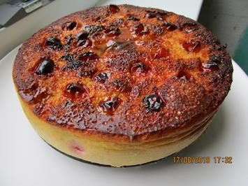 """Kirschpflaumen-Quark-Joghurtkuchen aus der HLF - Das Exotische aus der """"Heimat""""! - Rezept - Bild Nr. 8584"""