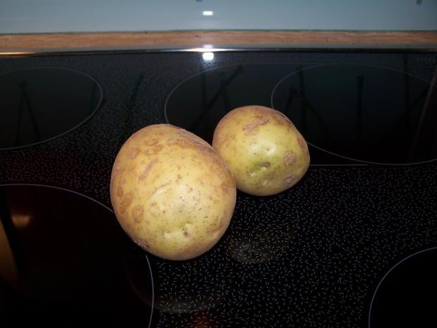 Bratkartoffel Würfel mit Thüringer Bratwurst - Rezept - Bild Nr. 8585
