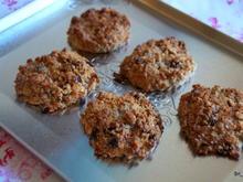Anzac Cookies: Kokos-Hafer-Makronen-Kekse - Rezept - Bild Nr. 2