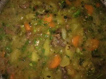 Kartoffelsuppe mit Rindfleisch - Rezept - Bild Nr. 8614