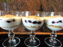 Dessert:   JOGHURT ~ SAHNE  mit Süßkirschen - Rezept - Bild Nr. 2