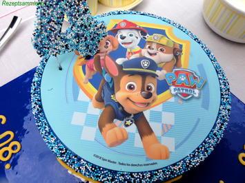 Biskuit:   PAW PATROL Geburtstags Torte - Rezept - Bild Nr. 8623