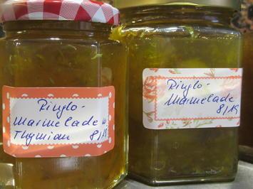 Vorrat: Ringlo-Konfitüren mit verschiedenen Geschmacksrichtungen - Rezept - Bild Nr. 8638