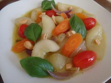 Rezept: Schmorgurken-Curry