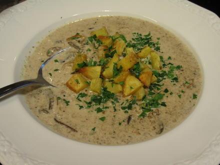 Suppen: Cremige Waldpilzsuppe - Rezept - Bild Nr. 8638