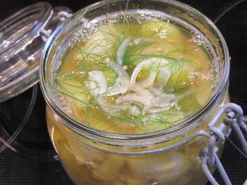 Vorrat: Honiggurken - Rezept - Bild Nr. 2