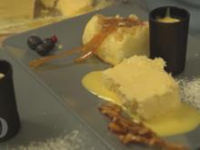 """""""Eier im Erdbeerfeld"""": Eierlikör-Erdbeer-Vanille-Dessert aus selbstgemachten Zutaten - Rezept - Bild Nr. 2"""