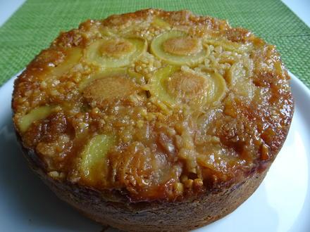 """Umgedrehter Pfirsich-Kuchen in """"mini"""" - Rezept - Bild Nr. 8720"""