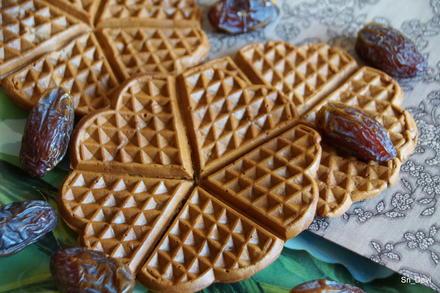 Frühstück: Dattel-Schoko-Waffeln - Rezept - Bild Nr. 2