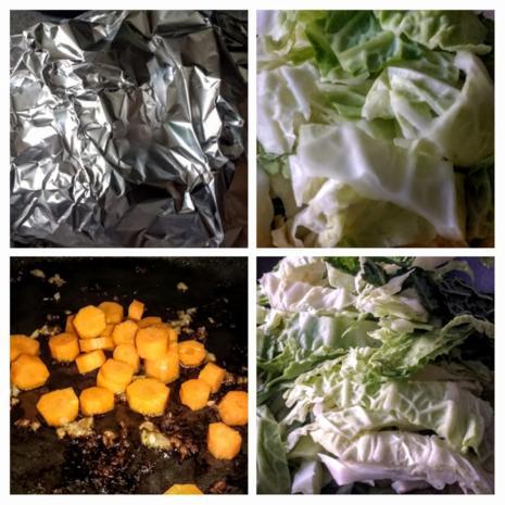 Schweinemedaillons auf Gemüse - Rezept - Bild Nr. 8737