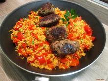 Hackröllchen nach türkischer  Art mit Tomaten-Bulgur - Rezept - Bild Nr. 2