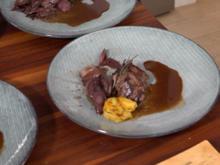 Jasmunder Rehrücken mit scharfer Karibik-Choco-Sauce aus Übersee - Rezept - Bild Nr. 8774