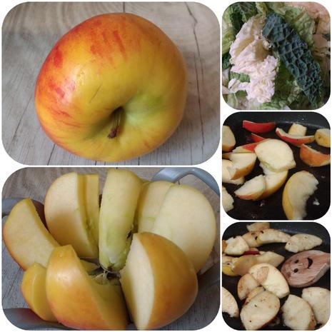 Fruchtiges Wirsinggemüse mit Nudel - Hackbällchen - kochbar Challenge 9.0 (Sept. 2019) - Rezept - Bild Nr. 8798