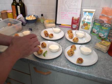 Malai Kofta mit Joghurt-Kokos-Minz-Soße - Rezept - Bild Nr. 2