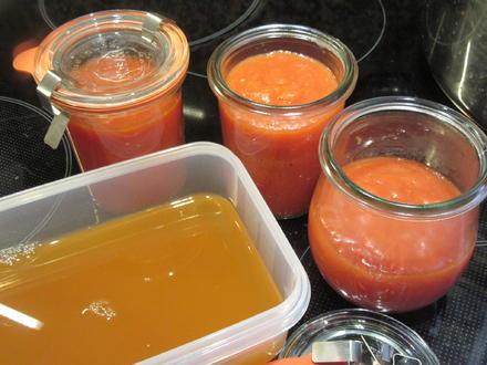 Vorrat: Tomatenpüree - Rezept - Bild Nr. 8794