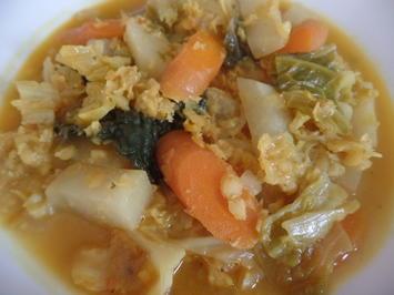Rote-Linsen-Curry - Rezept - Bild Nr. 8794