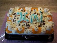 Mandarinen-Quark- Sahne-Torte - Rezept - Bild Nr. 8795