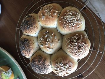 Sonntagsbrötchen aus dem Kühlschrank - Rezept - Bild Nr. 2