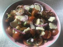 Tomatensalat mit Parmesan - Rezept - Bild Nr. 8795