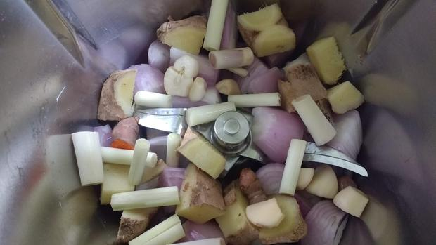 Gelbe Curry - Paste - Rezept - Bild Nr. 8809