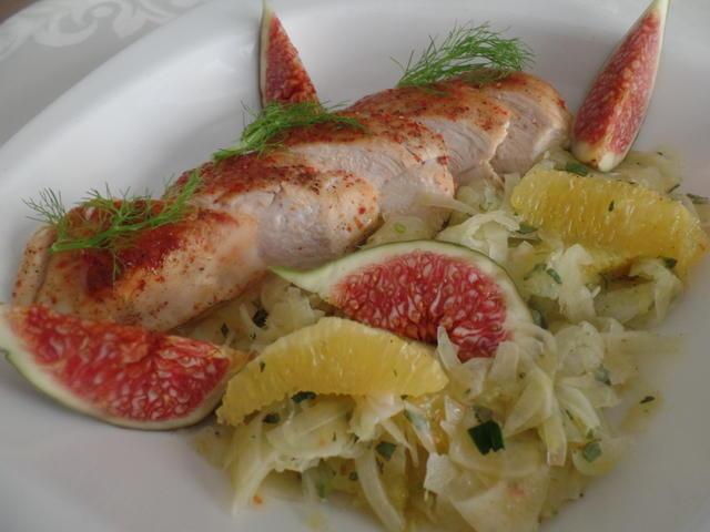 Low-Carb-Hähnchensalat