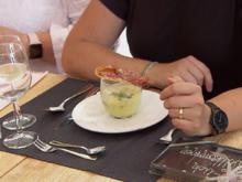 Spargelcremesuppe mit Parmaschinkenchip - Rezept - Bild Nr. 2