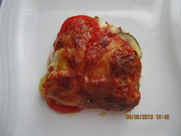 Auflauf mit Tomaten, Kartoffeln  und Thunfisch - Rezept - Bild Nr. 8803
