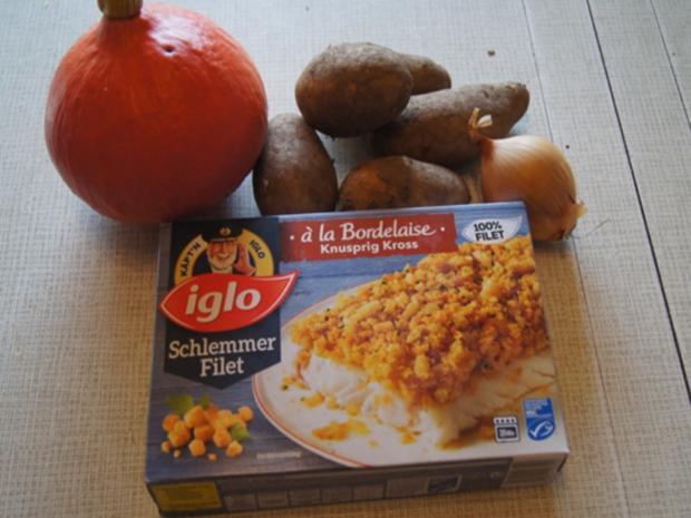 Schlemmer-Filet mit Hokkaidokürbis-Kartoffelstampf - Rezept - Bild Nr. 3