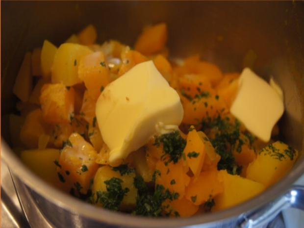 Schlemmer-Filet mit Hokkaidokürbis-Kartoffelstampf - Rezept - Bild Nr. 22