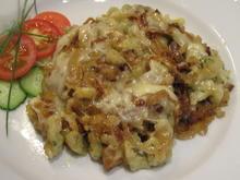 Pasta: Käsespätzle - mit Knoblauch und Schnittlauch - Rezept - Bild Nr. 8823