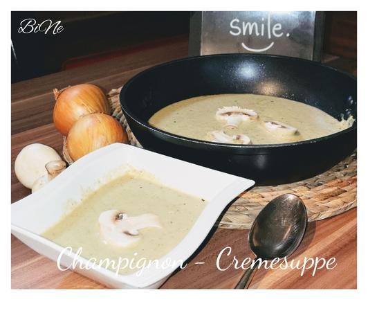 BiNe` S CHAMPIGNON - CREMESUPPE - Rezept - Bild Nr. 2