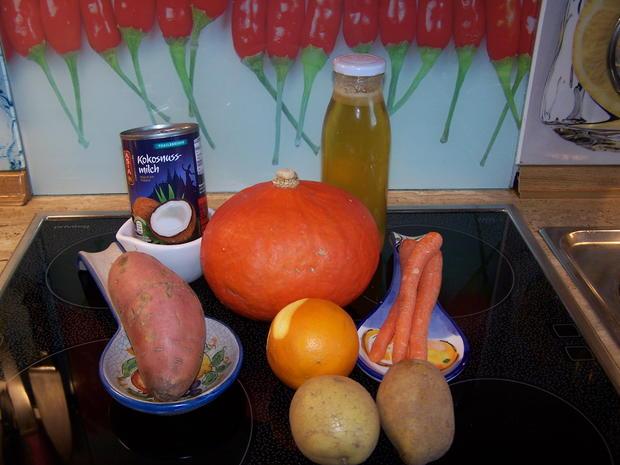 Kürbis-Suppe fruchtig - Rezept - Bild Nr. 8852