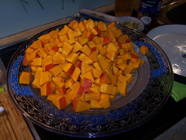 Kürbis-Suppe fruchtig - Rezept - Bild Nr. 8854