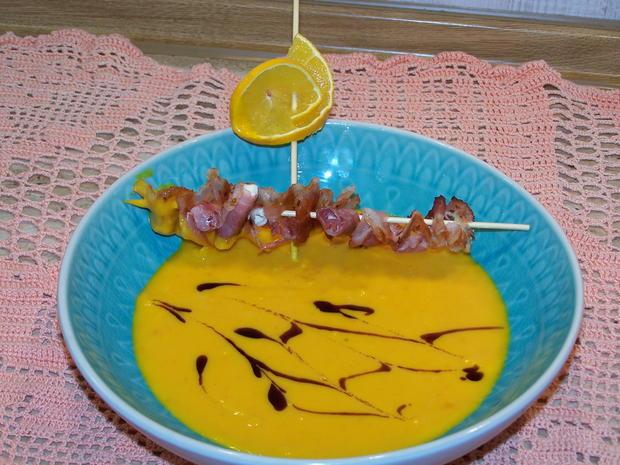 Kürbis-Suppe fruchtig - Rezept - Bild Nr. 8855