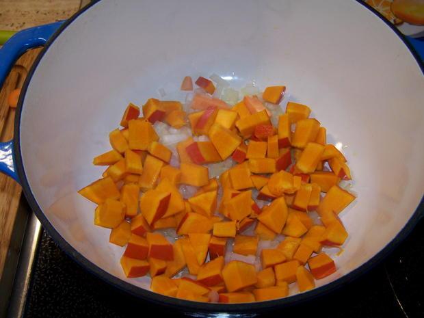 Kürbis-Suppe fruchtig - Rezept - Bild Nr. 8860