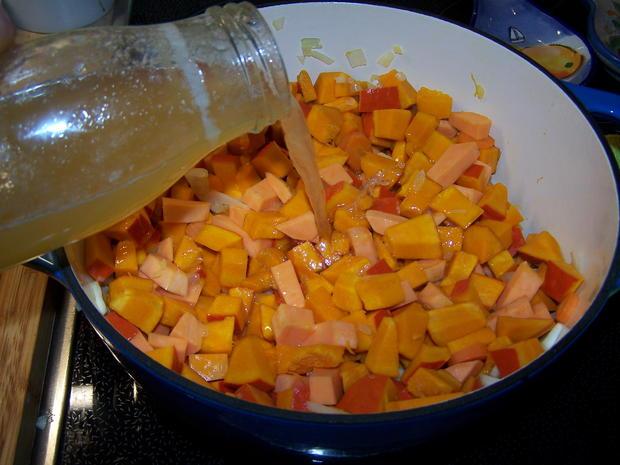 Kürbis-Suppe fruchtig - Rezept - Bild Nr. 8861