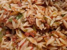 Kritharaki-Nudelsalat - Rezept - Bild Nr. 2