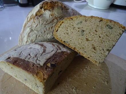 Dinkel-Körnerbrot Kochbar-Challenge 9.0 - Rezept - Bild Nr. 2
