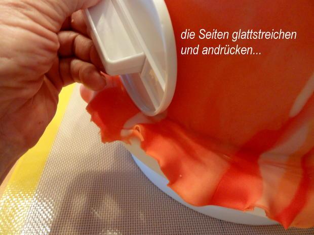 Rührteig:   SCHACHBRETT~TORTE mit Fondant-Deko - Rezept - Bild Nr. 8870