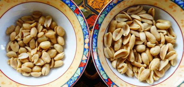 Eier auf Balado Art mit Mungokeimlingen und Erdnusssambal - Rezept - Bild Nr. 8857