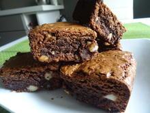 Macadamia-Brownies - Rezept - Bild Nr. 2