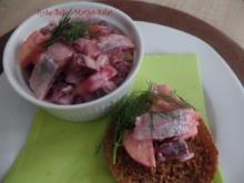 Rote-Bete-Matjes-Salat - Rezept - Bild Nr. 8856
