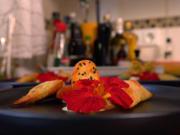 Curry-Eis mit heimischem Räucherfisch in knuspriger Samosa - Rezept - Bild Nr. 8862
