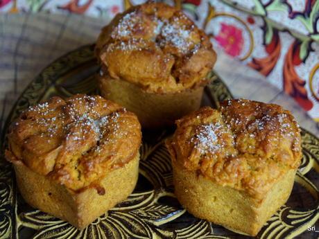 Süßkartoffel-Zimt-Muffins - Rezept - Bild Nr. 2