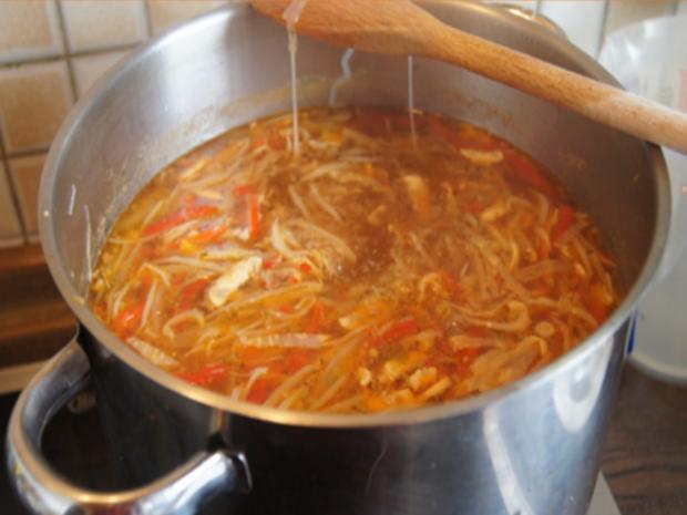 Chinesische Suppe XXL - Rezept - Bild Nr. 8881